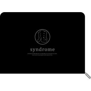 """syndrome"" クラッチバッグ"