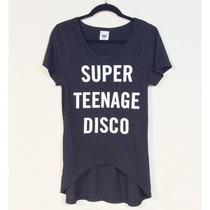 SUPER TEENAGE DISCO T-SHIRTS (OriginalBody)