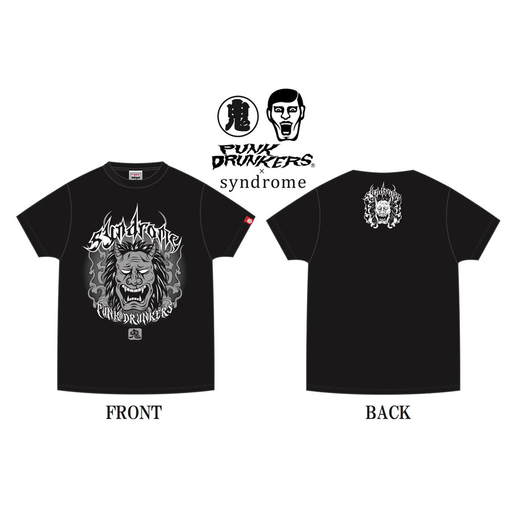 『PUNK DRUNKERS × syndrome』フェスTEE