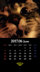 6月鬼束カレンダー