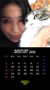 7月鬼束カレンダー